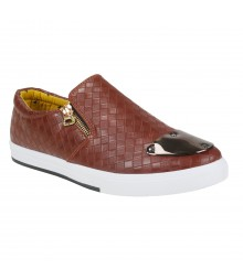 Vostro Stunner Brown Men Casual Shoes - VCS1047-40